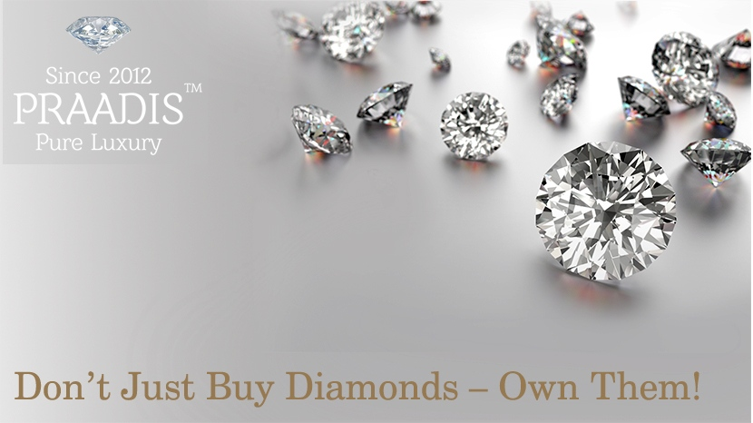 DON'T JUST BUY DIAMONDS – OWN THEM!