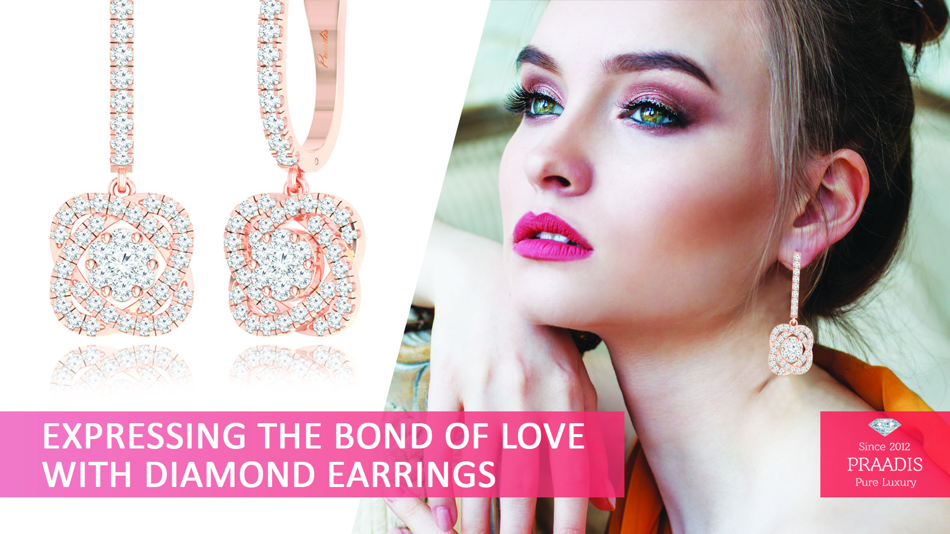 Expressing the Bond of Love with Diamond Earrings